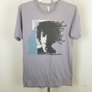Bob Dylan American Apparel concert tour t shirt